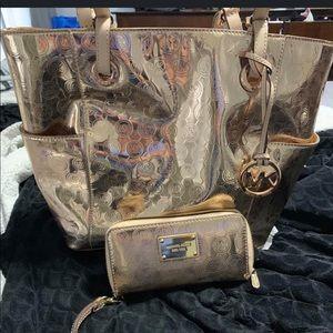 Matching MK purse & wallet.